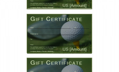 Golf Gift Certificate Download This Free Printable Golf Gift