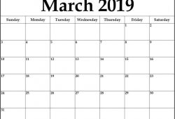 Fresh March 2021 Free Printable Calendar