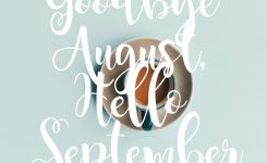 Goode August Month And Welcome September Clipart Welcome