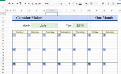 Google Spreadsheet Templates Unique Google Docs Calendar