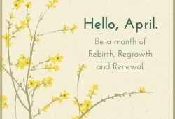 Hello April Quotes