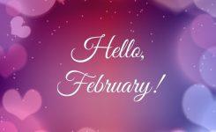 Hello February   Happy Valentine Day Quotes, Valentines Day