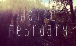 Hello February Shared Chelsea On We Heart It