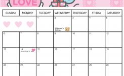 Hello Kitty Calendar Printable Hello Kitty February 2011 Printable