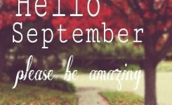 Hello September   Hello September Quotes, September Quotes