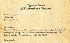 Hogwarts Acceptance Letter Legiondesign Harry Potter Party