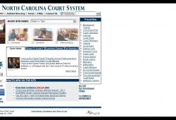 North Carolina Court Calendar