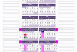 Month And Week Pregnancy Calendar