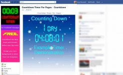 How To Install A Countdown Timer Clock On Your Facebook Fan Page