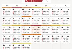 Solar Lunar Calendar Fishing