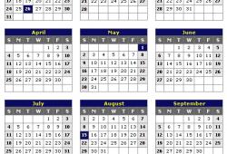 2021 Calendar India