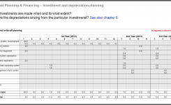 Investment Propertyness Plan For Rental Sample Template Real
