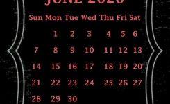 Iphone June 2020 Calendar Wallpaper | Calendar Wallpaper