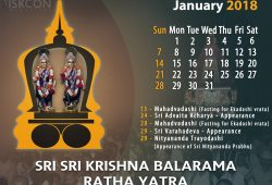 Iskcon Calendar 2018 Uk