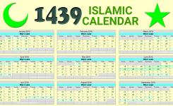 Islamic Calendar 2018 Usa Flash Design