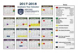 Iu 5 Year Calendar