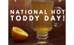 January 11th Is National Hot Toddy Day Card