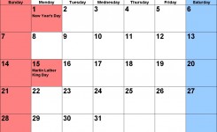 January 2018 Calendar Usa January 2018 Calendar Pinterest