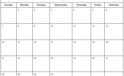 January 2018 Monthly Calendar Printable Templates Printable