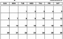 January Month Calendar 2019 Printable 123 Blank January Calendar