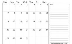 July 2019 Calendar With Notes 2019 Calendars 2019 Calendar
