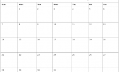 July 2019 Free Printable Calendar