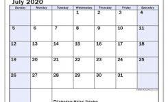 July 2020 Calendar 57ss Michel Zbinden En