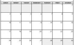 June 2018 Printable Calendar Templates