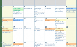 June 2019 Calendar With Holidays United States