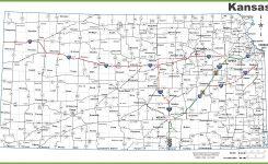 Kansas Road Map