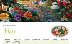 Kinkade Disney Dreams Calendar 2018 Calendar Club Uk