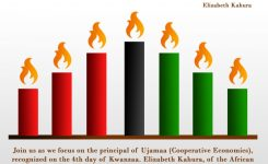 Kwanzaa Celebration Of Ujamaa With Elizabeth Kahura In Austin At