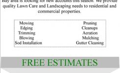 Lawn Care Flyer Free Template Lawn Care Business Marketing Tips