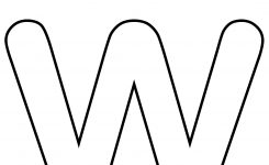 Letter W Template Boatjeremyeatonco