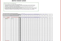 General Ledger Template Excel