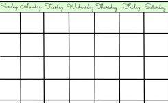 Make Your Own Schedule Mathsequinetherapiesco