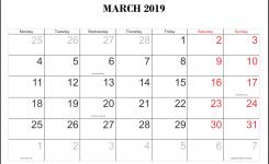 March 2019 Calendar With Holidays March 2019 Calendar Template