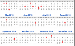 Mauritius Calendar 2018 8 Newspicturesxyz