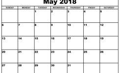 May 2018 Waterproof Calendar 2018 Calendars Pinterest Calendar