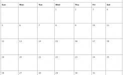 May 2019 Free Printable Calendar Templates