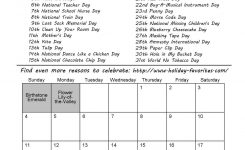 May Special Day Calendar Page May Calendar 5th Month Pinterest