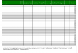 Monthly Report Format Template