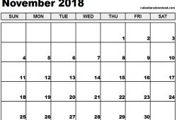 2018 November Calendar With Moonphases Pdf