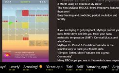My Days Period Ovulation Iphone Ipad Review Youtube