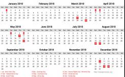 Namibia Calendar 2018 12 Newspicturesxyz