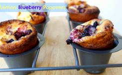 National Blueberry Popover Day Blueberry Lemon Popovers