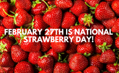 National Strawberry Day Beacon Management