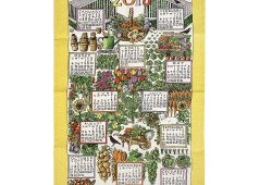 2018 Calendar Tea Towel Uk