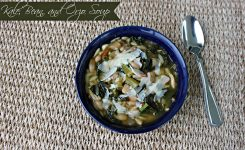 National Turkey Neck Soup Day Kale Bean And Orzo Soup