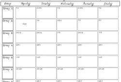 Teachers Corner Printable Calendar